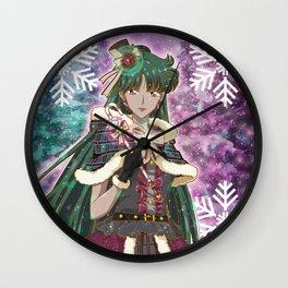Merry Xmas Setsuna! Wall Clock