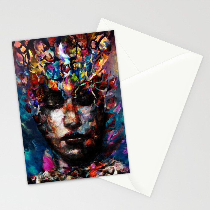 fractured but whole Stationery Cards
