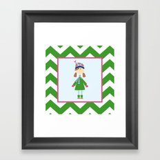 Winter Wear Framed Art Print