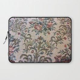 Antique floral chair Laptop Sleeve