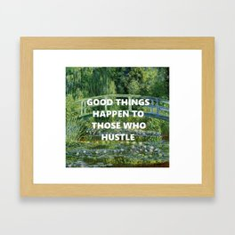Noll's Water Lilies  Framed Art Print