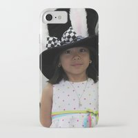 hat iPhone & iPod Cases featuring Hat by Faith Buchanan