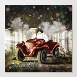 Giant Toy Car Canvas Print