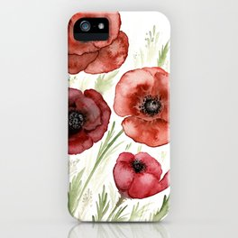 Perfect Poppies iPhone Case