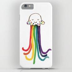 Rainbow Jellyfish iPhone 6s Plus Slim Case