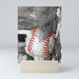 Baseball art vs 13 Mini Art Print