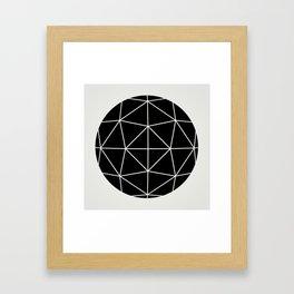 Sphere 3 Framed Art Print