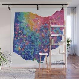 Rainbow Ohio Wall Mural