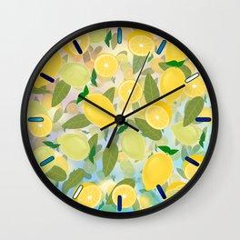 Lemon Song Wall Clock