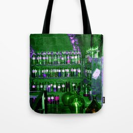 Potion Class - Green and Purple Hues Tote Bag