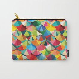 Piecharts Pattern Carry-All Pouch