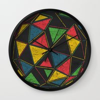 deadmau5 Wall Clocks featuring Techno by Sitchko Igor