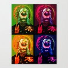 Cyclops JJJJesus Canvas Print