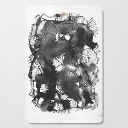 Black art Cutting Board