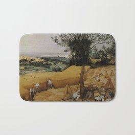 Pieter Bruegel the Elder, The Harvesters Bath Mat