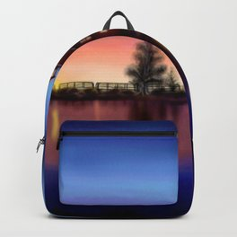 Lighthouse Sunset Backpack
