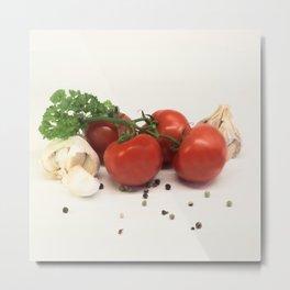 Cuisine italienne Metal Print