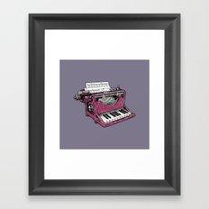 The Composition - P. Framed Art Print