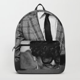 Birds in the Boneyard, Print 15: Petey at the Piano Backpack