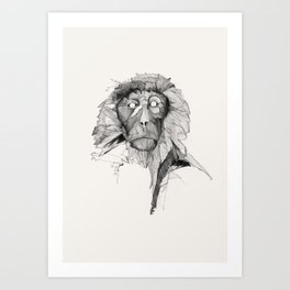 Seven Monkeys – Pride Art Print
