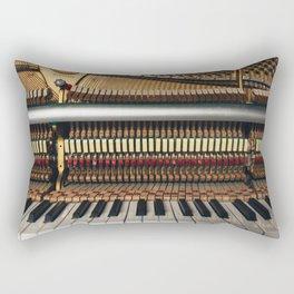 Piano inside Rectangular Pillow