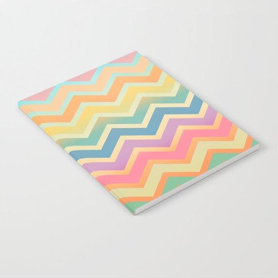Summer-color Chevron Notebook