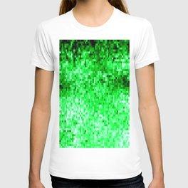 Grass Green Pixels T-shirt
