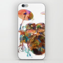 Drum Solo iPhone Skin