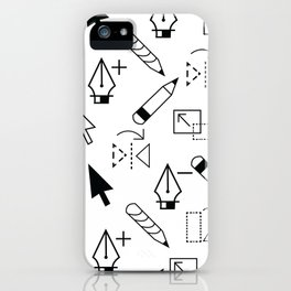 Illustrator Tools iPhone Case