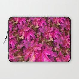 Sweetgum Fractal in Pink Laptop Sleeve