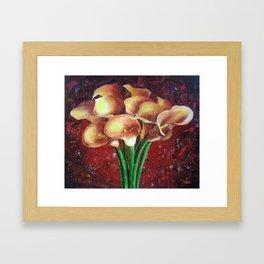 Calla Lillies Framed Art Print