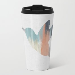 Pastel Hummingbird Travel Mug