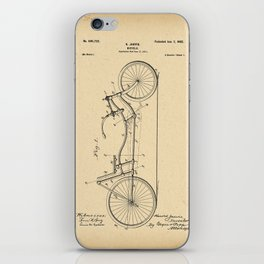 1901 Patent Bicycle Velocipede iPhone Skin