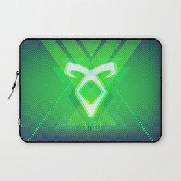 Neon Enkeli Rune Laptop Sleeve