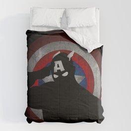 SuperHeroes Shadows : Captain America Comforters