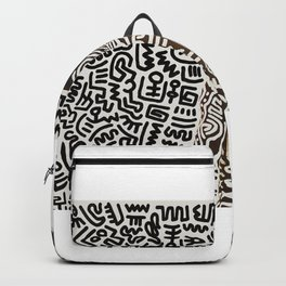 Keith Allen Haring - Hip Hop - Pop Art Culture - Shop Society6 Online 1 12/23 Backpack