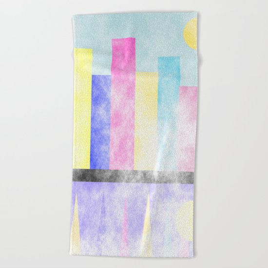 Skyline Beach Towel