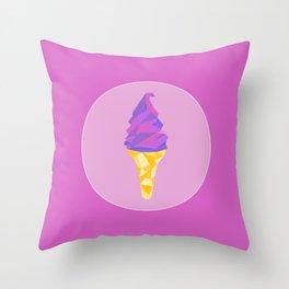 Ice Cream Dreams Throw Pillow