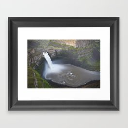 Palouse Falls at Sunrise Framed Art Print