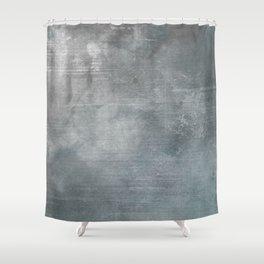 Vintage Concrete Wall Shower Curtain