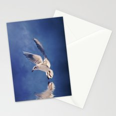 Reflections in Blue Stationery Cards