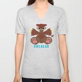 Owlbear Unisex V-Neck