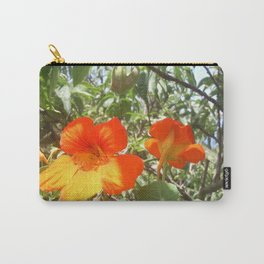 Loving Flowers Carry-All Pouch