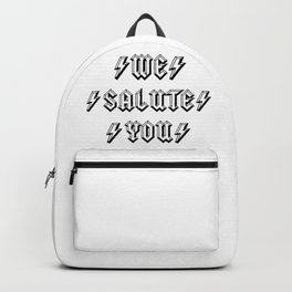 We Salute you | For Rock and Roll lovers | Australian Rock Backpack