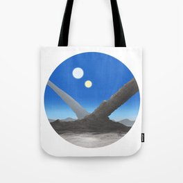 Otherworld View #1 Tote Bag
