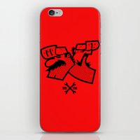 mario bros iPhone & iPod Skins featuring Mario & Luigi - BROS by La Manette