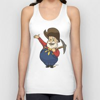 toy story Tank Tops featuring Toy Story | Stinky Pete by Brave Tiger Designs