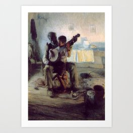 The Banjo Lesson by Henry Ossawa Tanner Art Print