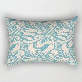 Fossil Pattern Rectangular Pillow