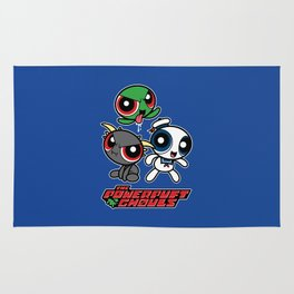 The Powerpuft Ghouls Rug